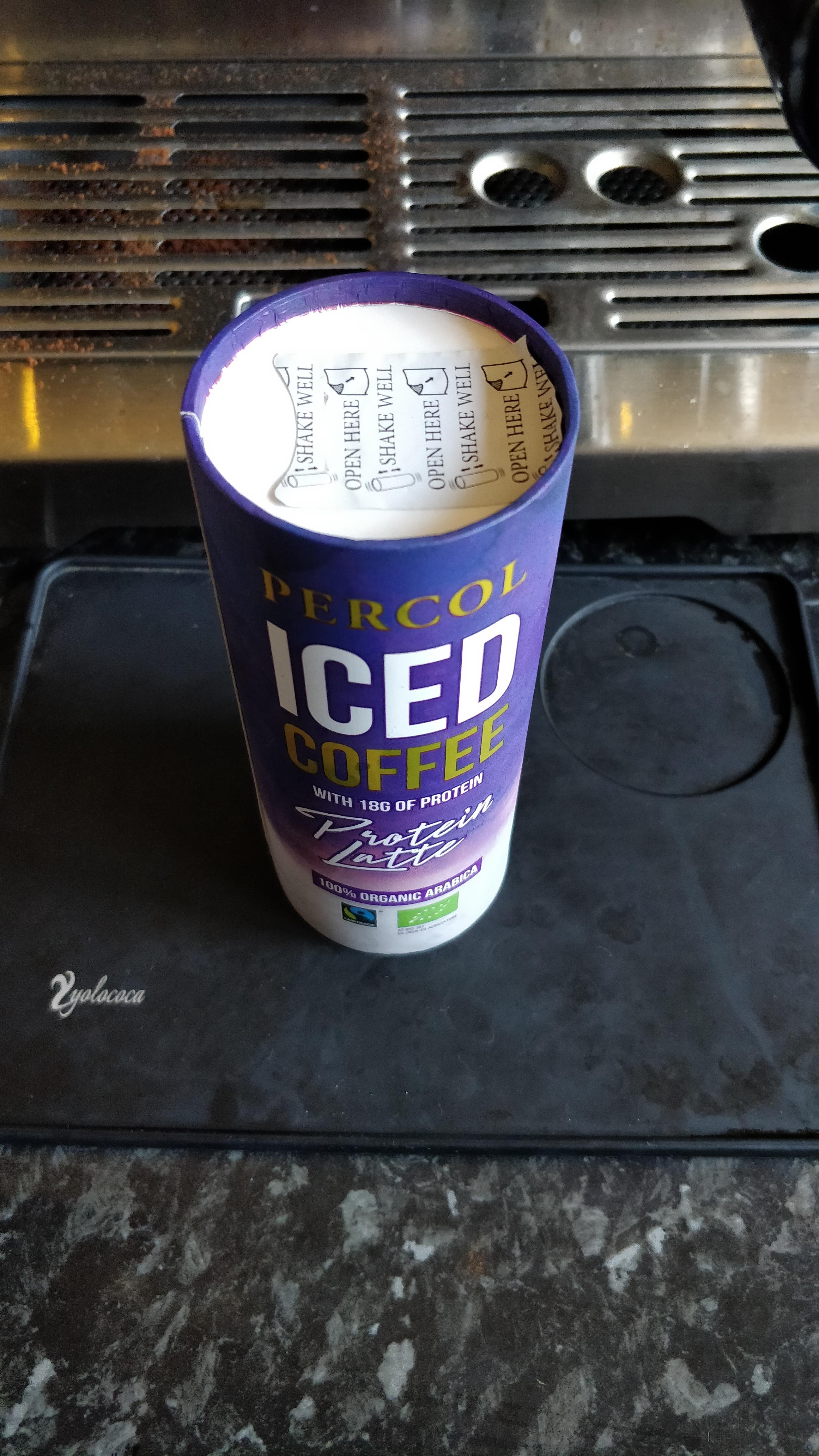Review 18 Percol Iced Coffee Protein Latte The Proto