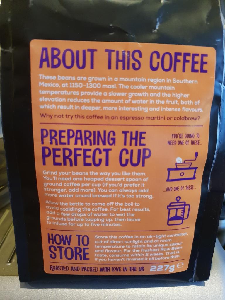 Review 20 Raw Bean Coffee The Proto Coffee Snob